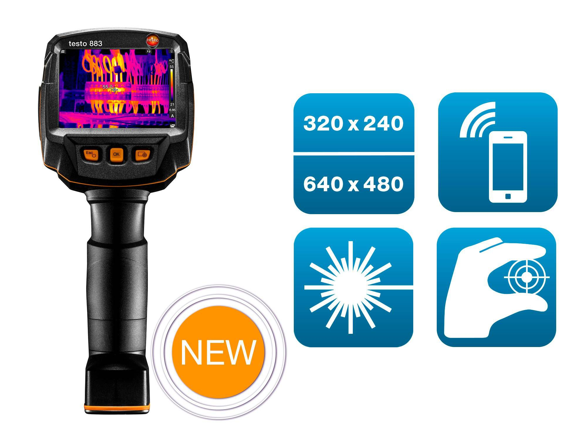 testo 883 kit thermal imager