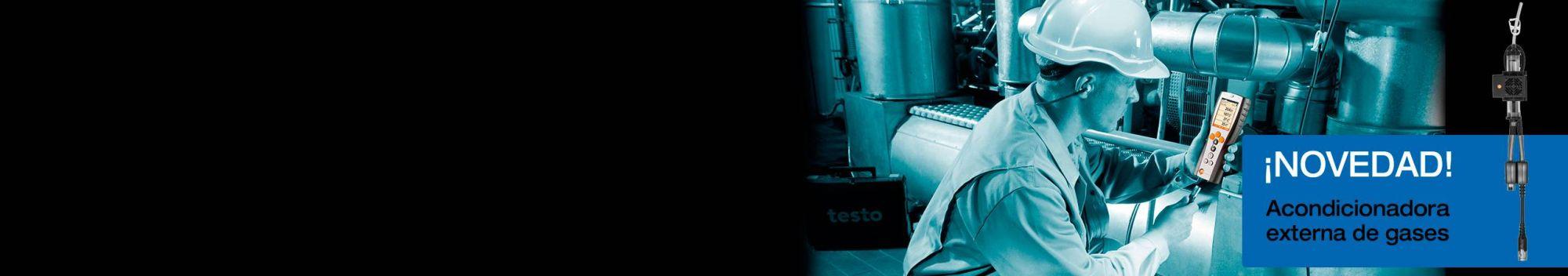 Mediciones portátiles de las <strong>emisiones industriales</strong>