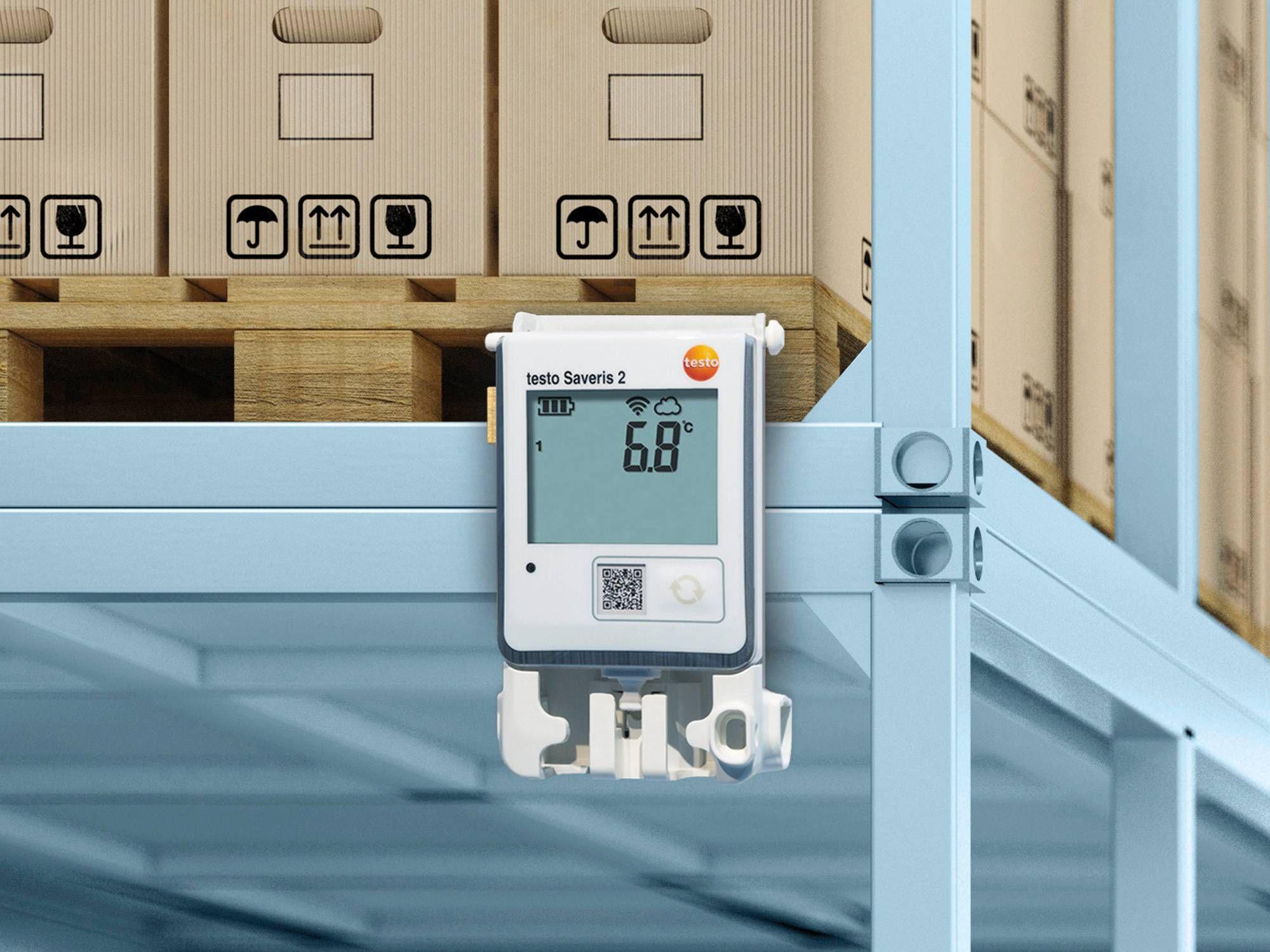 医药仓库中使用testo Saveris 2无线电数据记录仪系统的IAQ监测