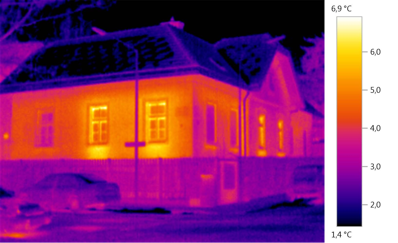 Thermal imager testo 872 - Energy consultancy