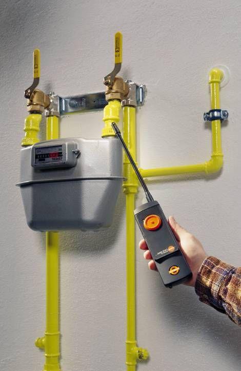 Detector de fugas de gas testo 316 1 combusti n y for Detector de gas natural