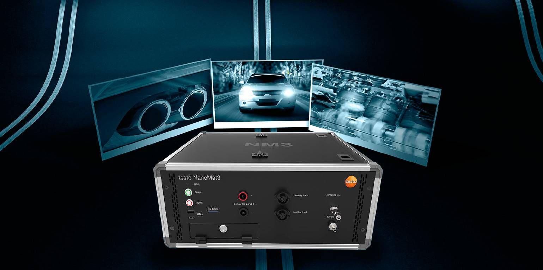 Portables Emissions-Messsystem testo NanoMet3