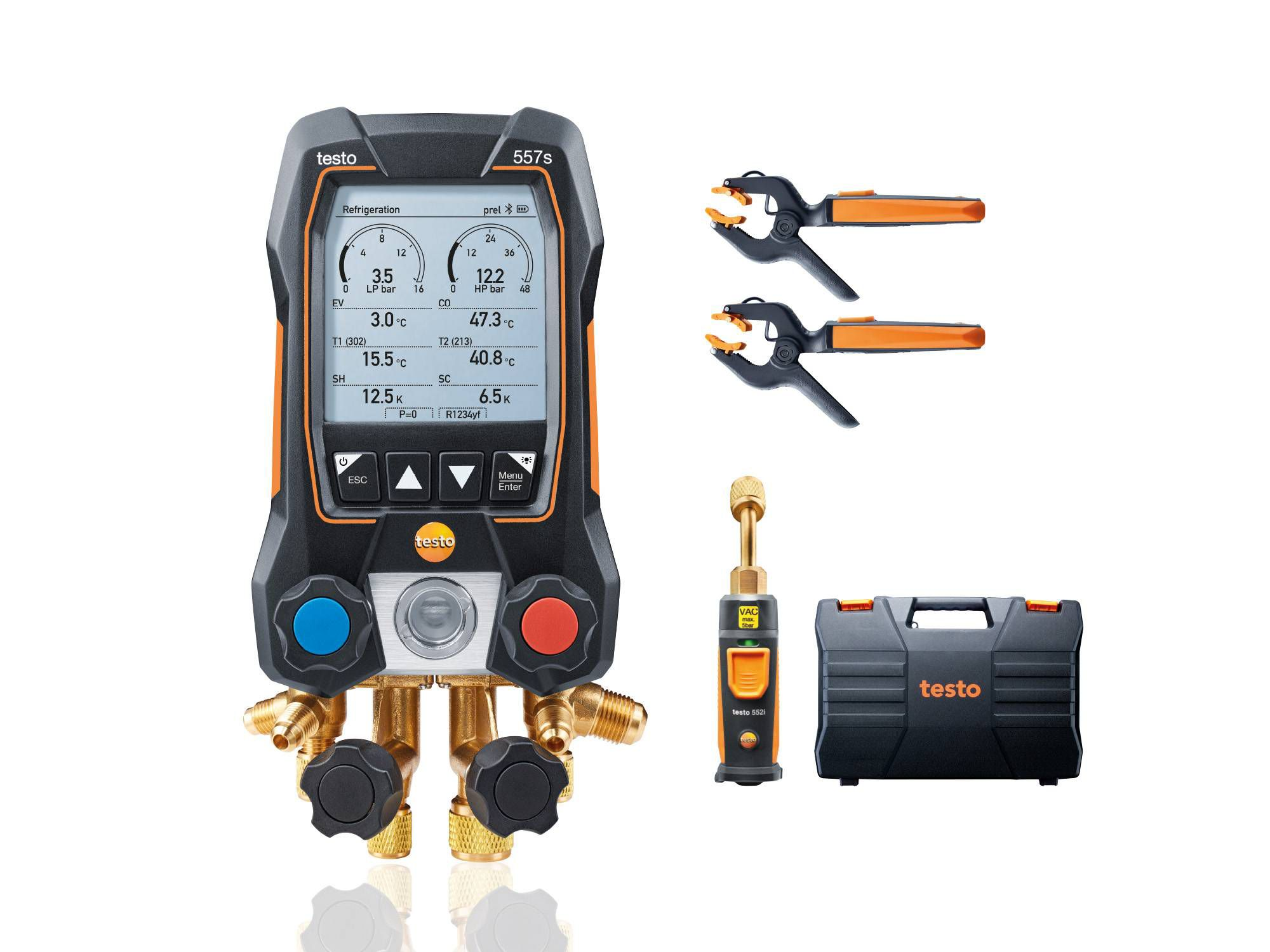 testo 557s smart vacuum kit