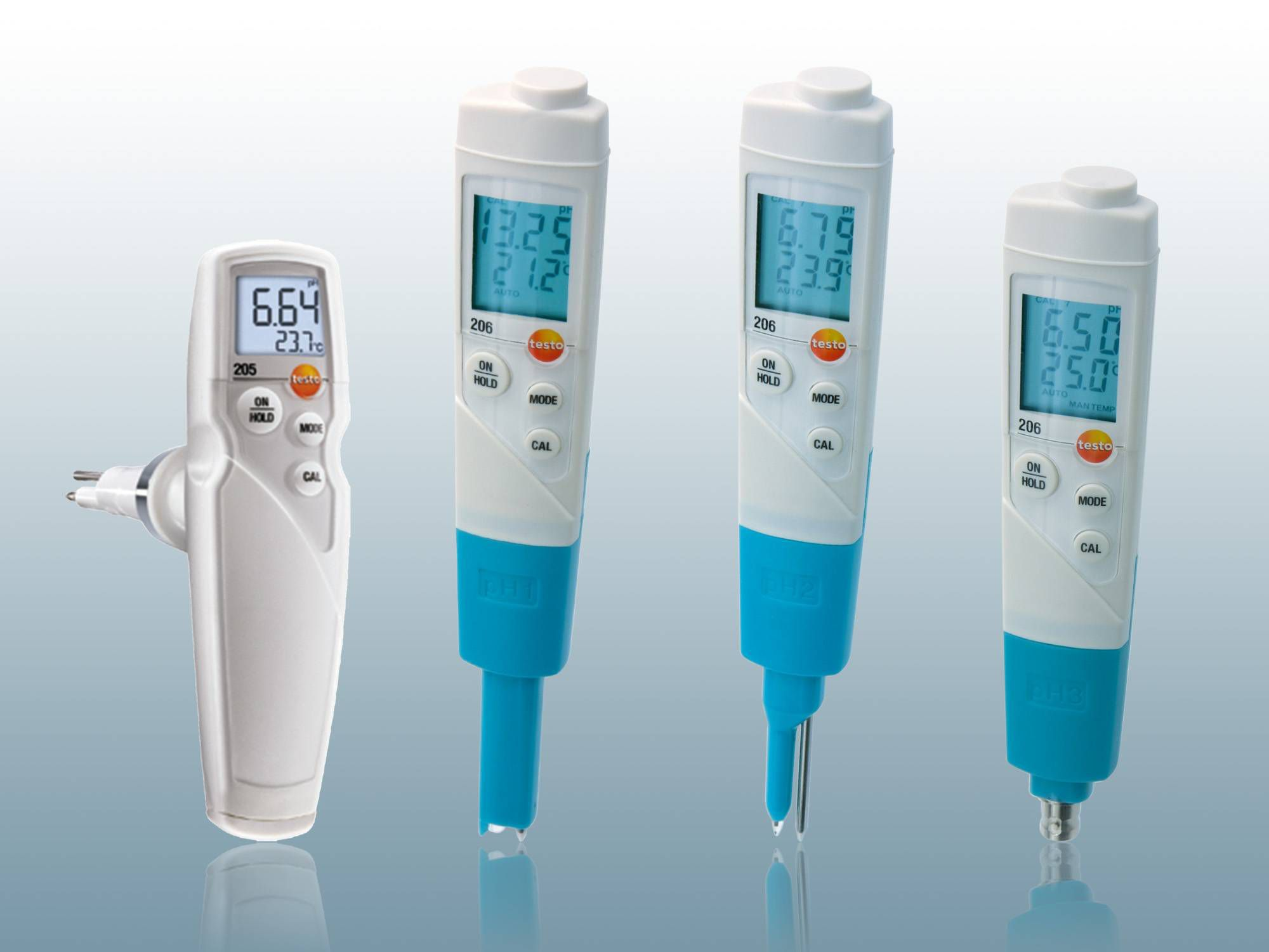 pH meters from Testo