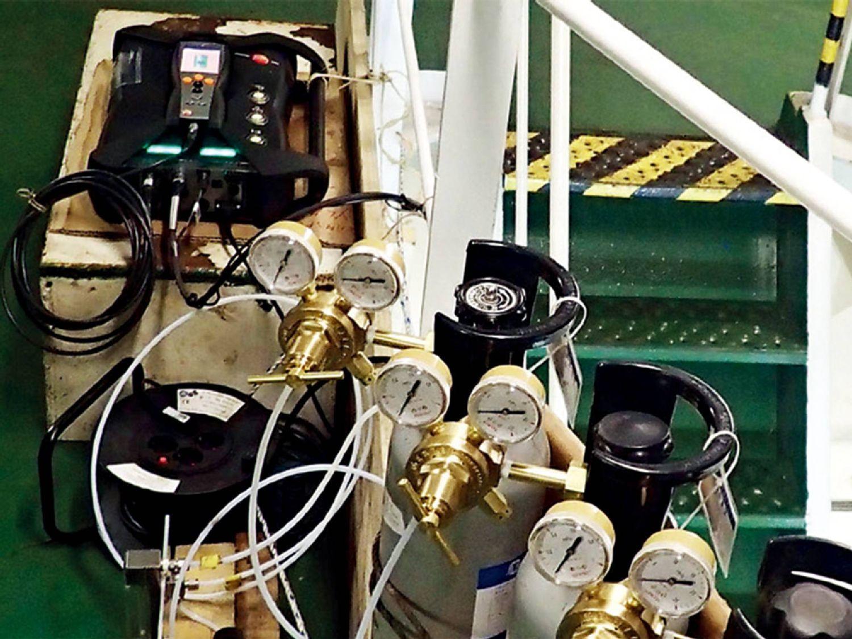 监测船舶废气排放和降低能耗