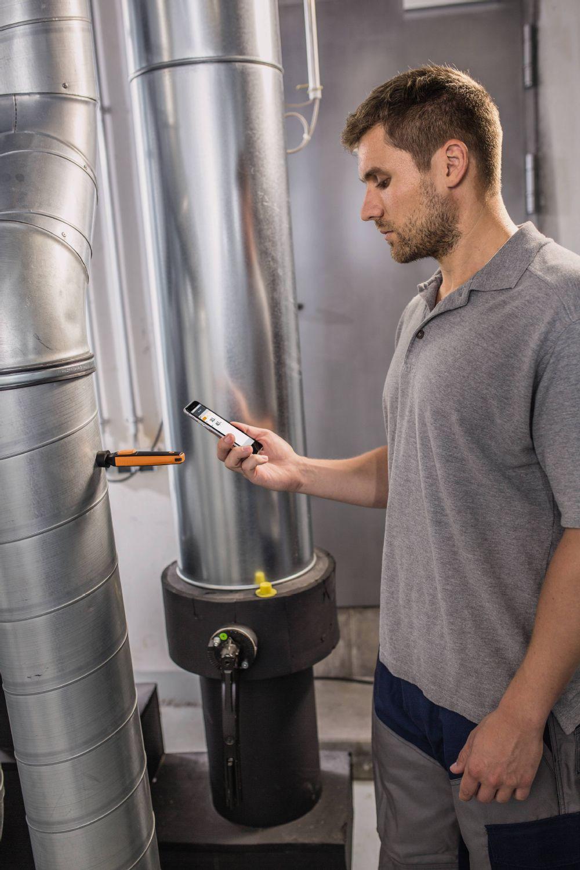 thermo-hygromètre avec commande Smartphone