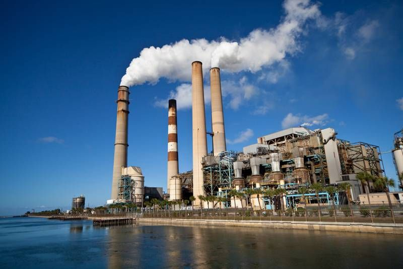 Part of Ektimo's role is to monitor the types of gases emitted from industrial stacks.