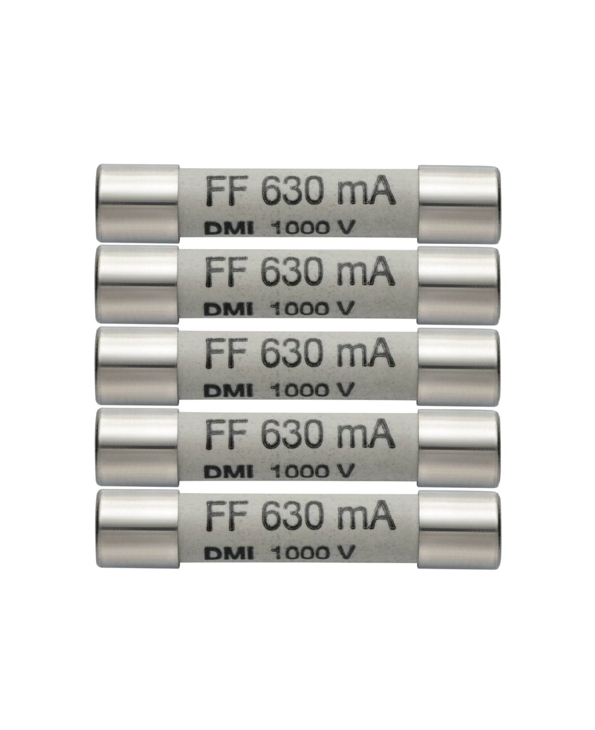 Fusibles de rechange 630 mA/1000 V 0590 0006