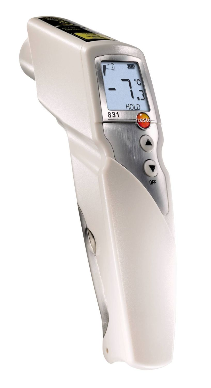 testo 831 infrarood temperatuurmeetinstrument