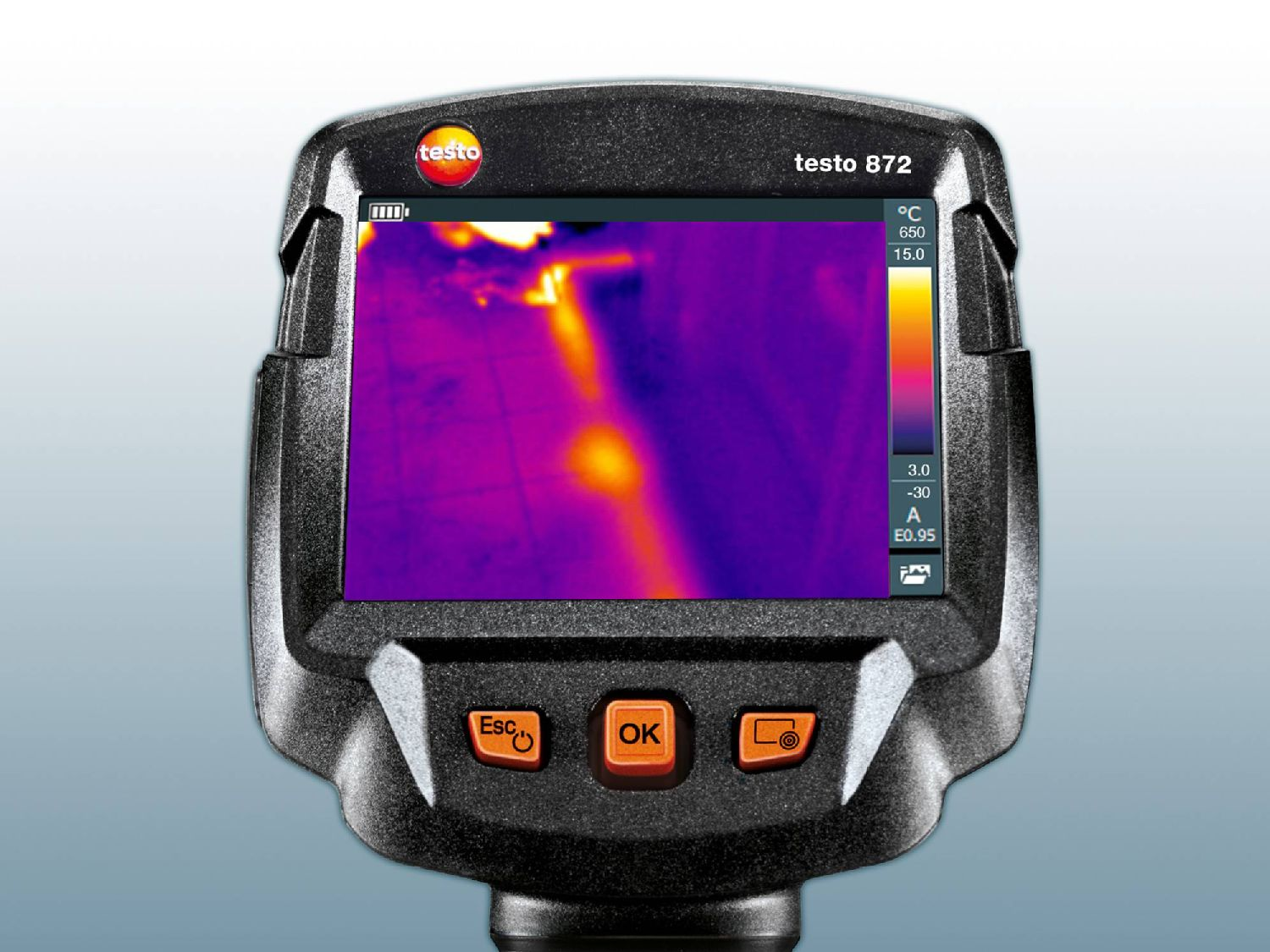 Leakage thermal imager