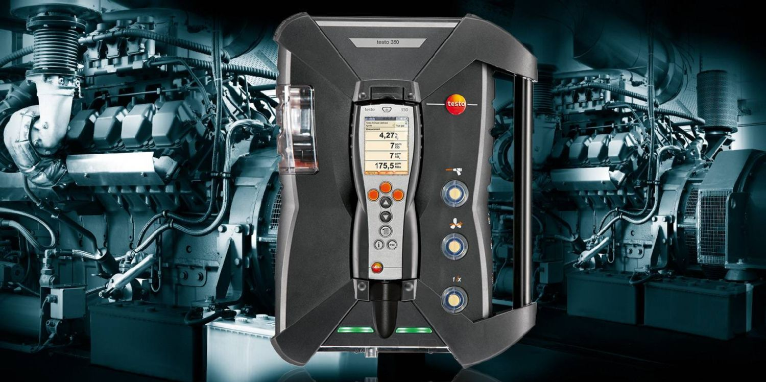 Portable Emission Analyzer testo 350