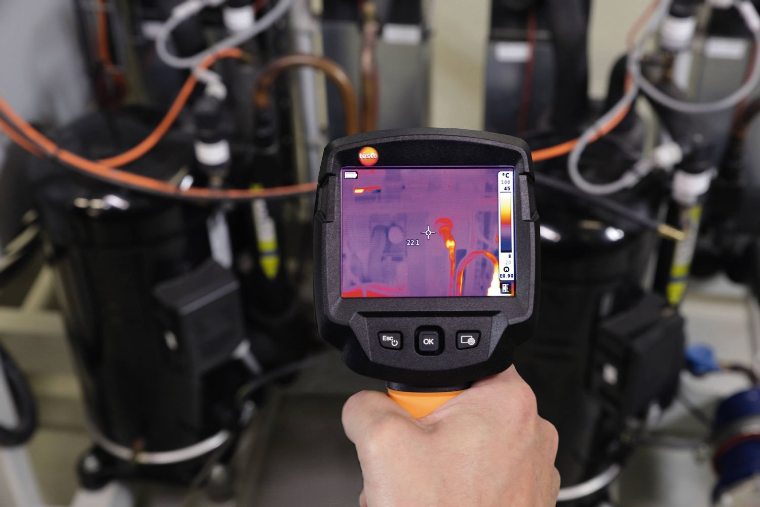 Thermography application technical systems