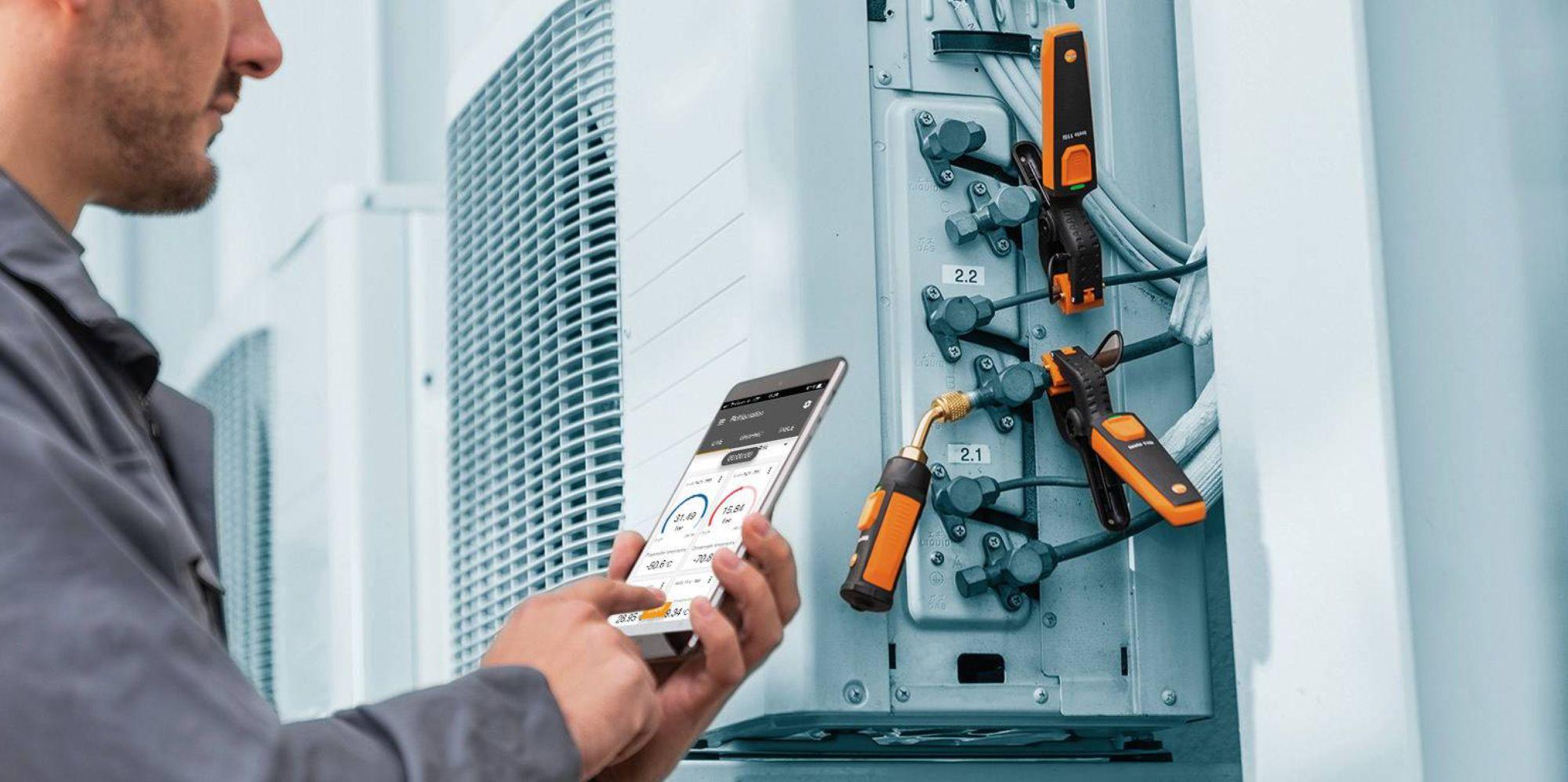 安装和调节热泵