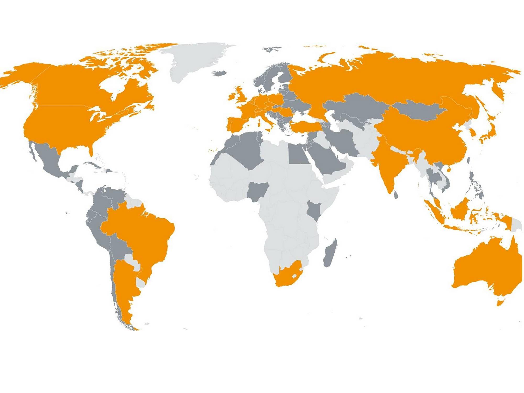 Testo Weltweit