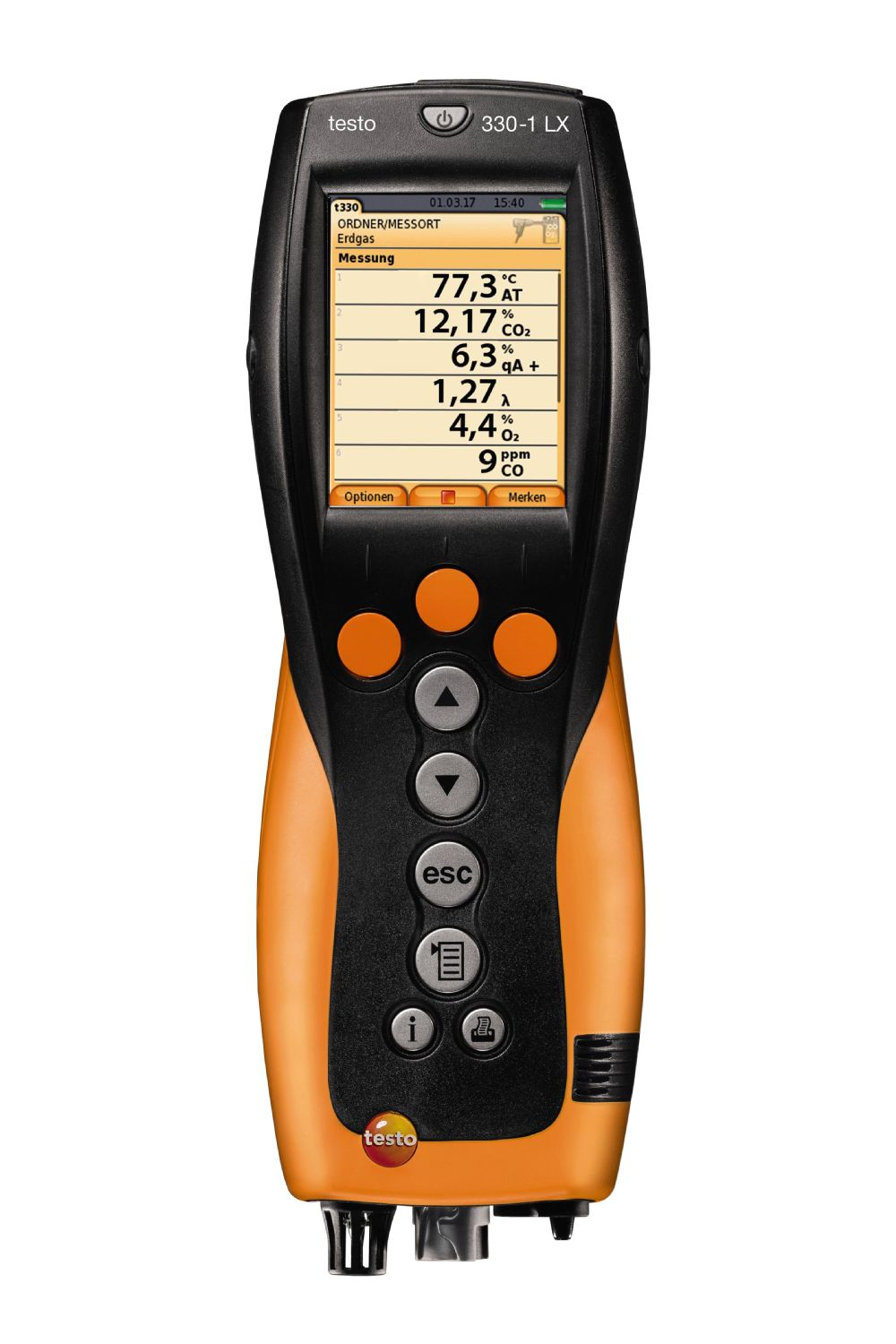 testo 330-2 LX - essential kit