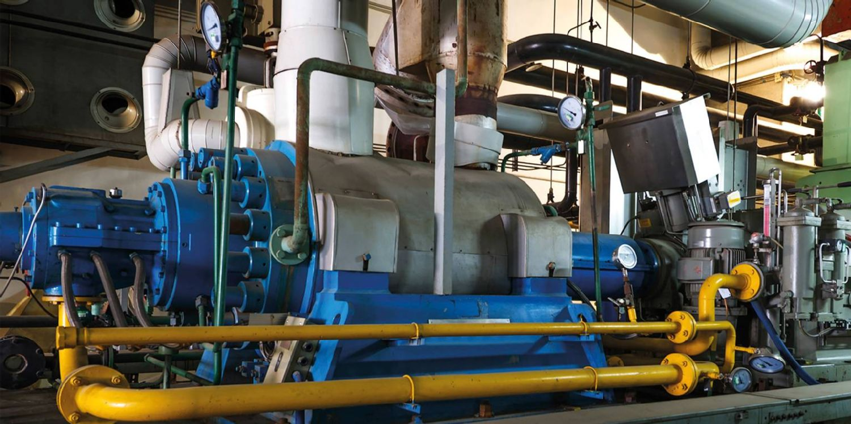 Boiler plants