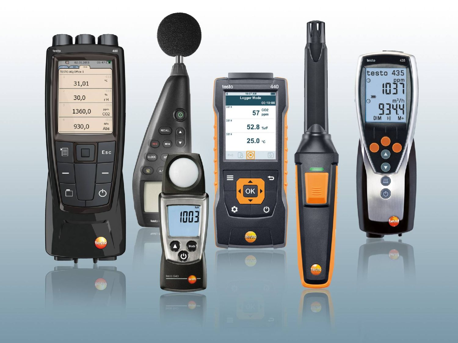Ambient measurement with Testo measuring instruments