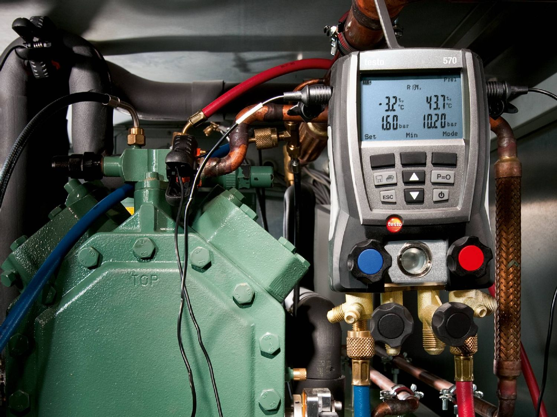 testo 570 dijital soğutma analizörü