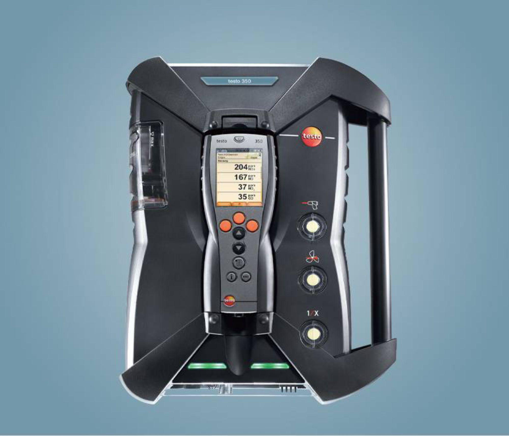 testo 350 烟气分析仪分析箱-蓝色新版