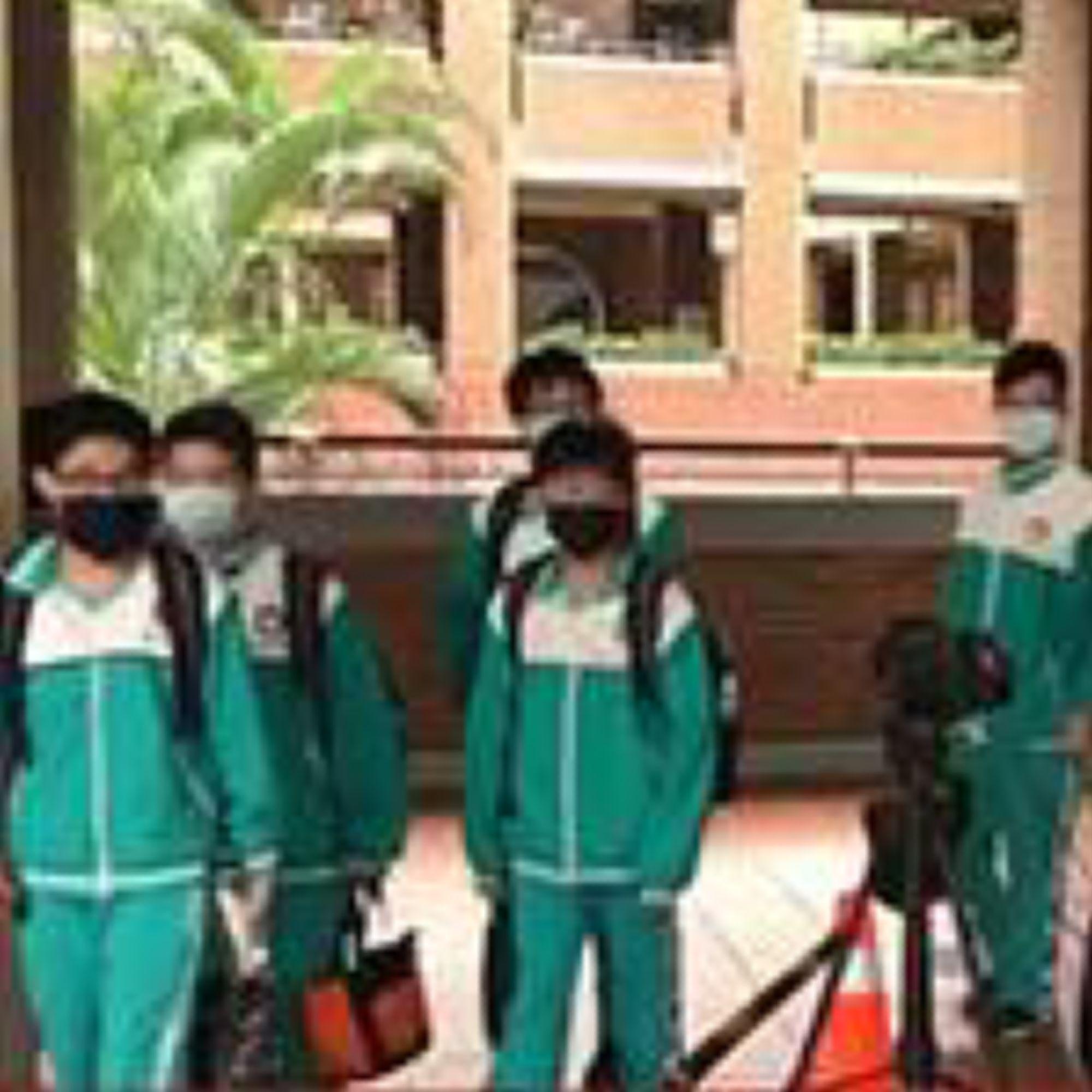 <h3>应用现场直击   台湾新北市某中学校园体表温度筛查</h3>