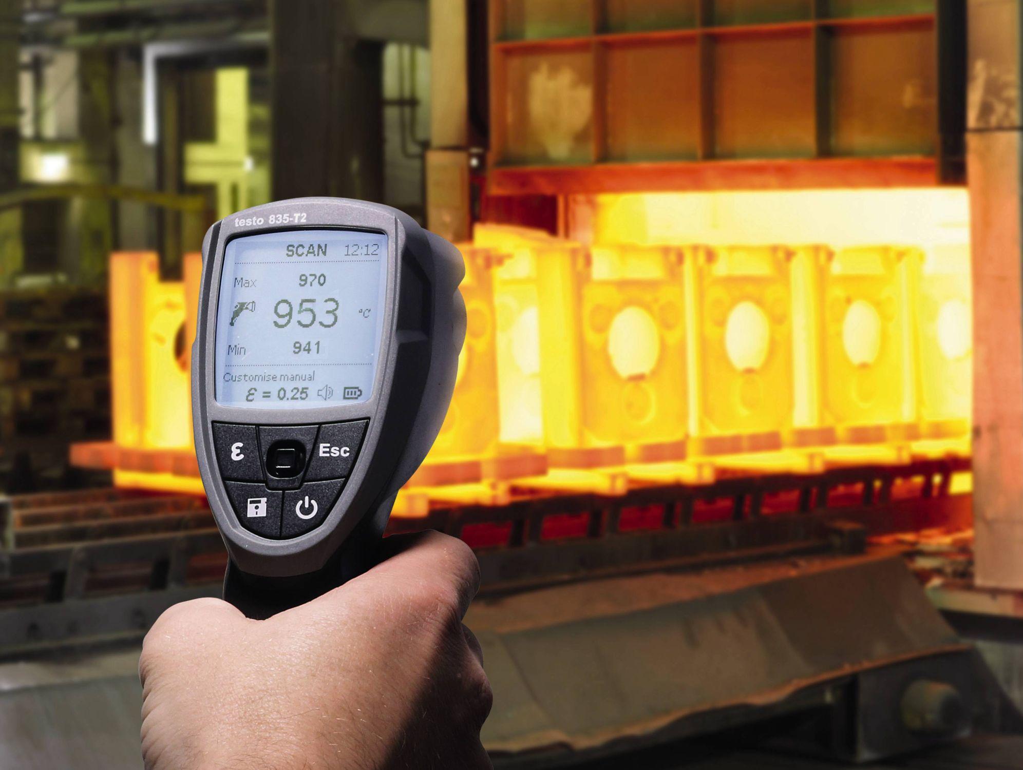 La medición por infrarrojos