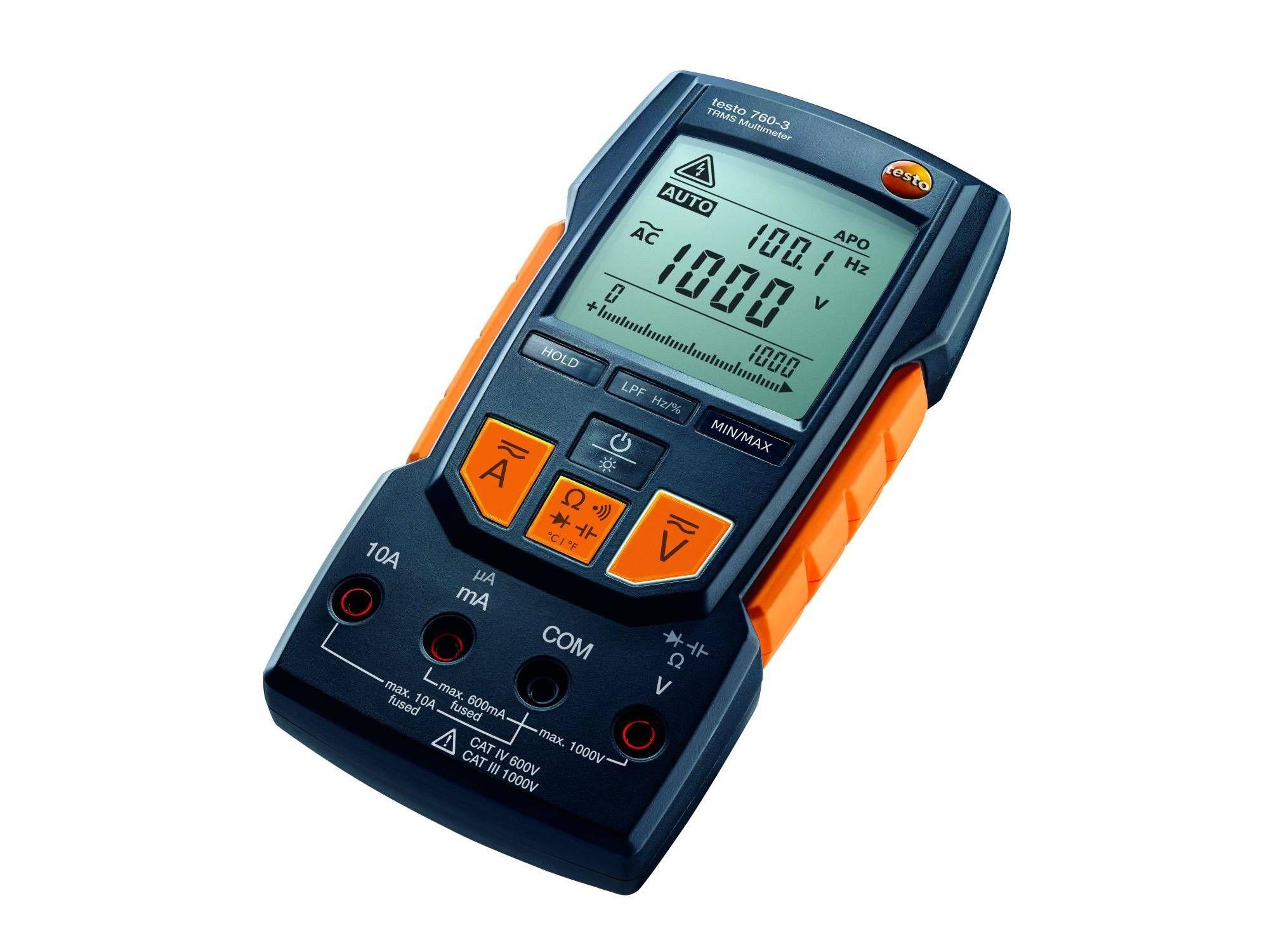 Das Digital-Multimeter testo 760