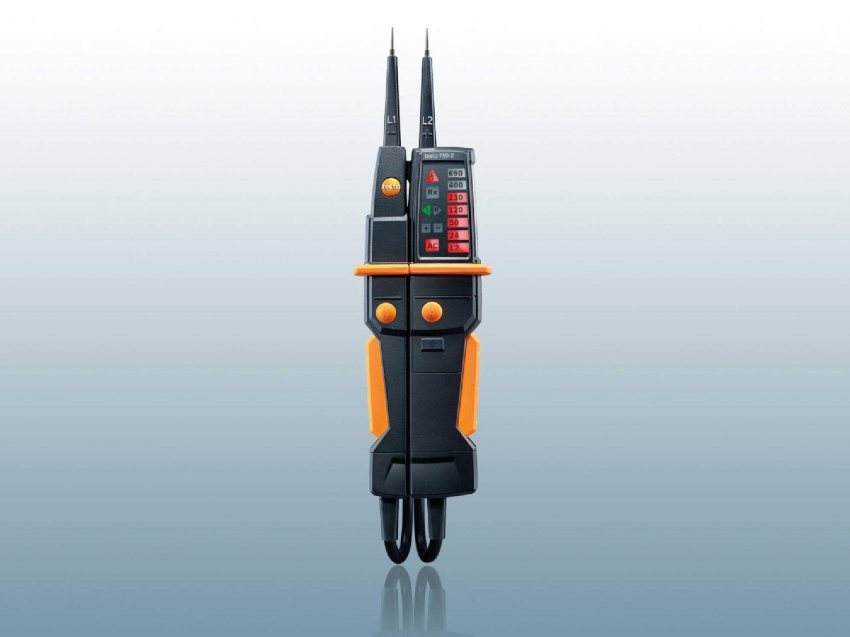 Comprobador de tensión testo 750-2