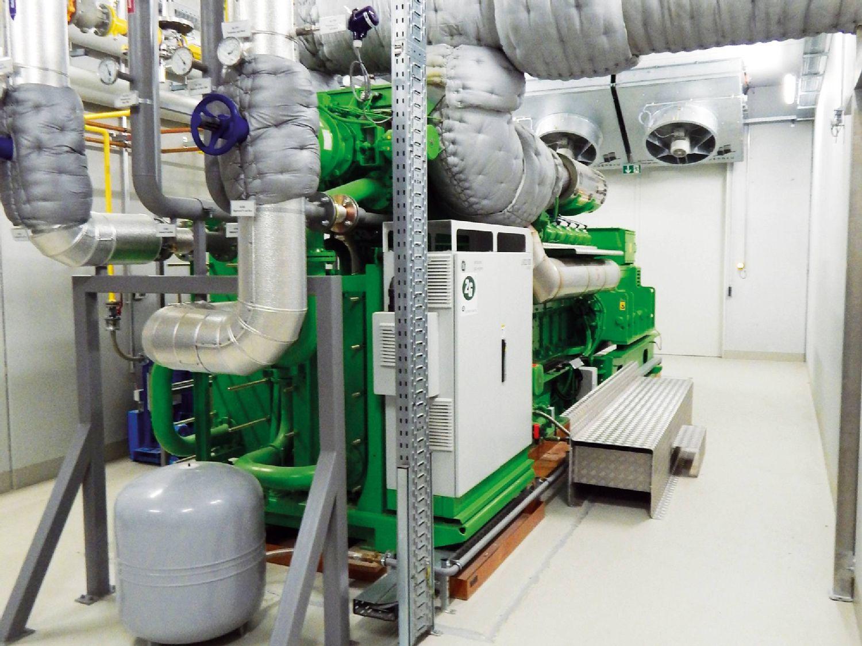 El analizador de combustión testo 350 en 2G Energy