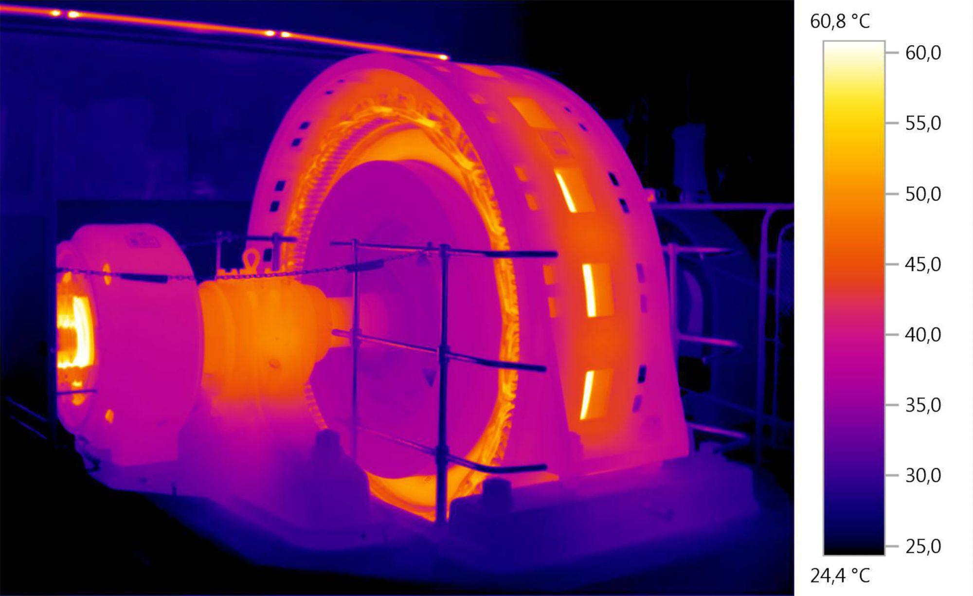 Wärmebild Energieerzeugeung
