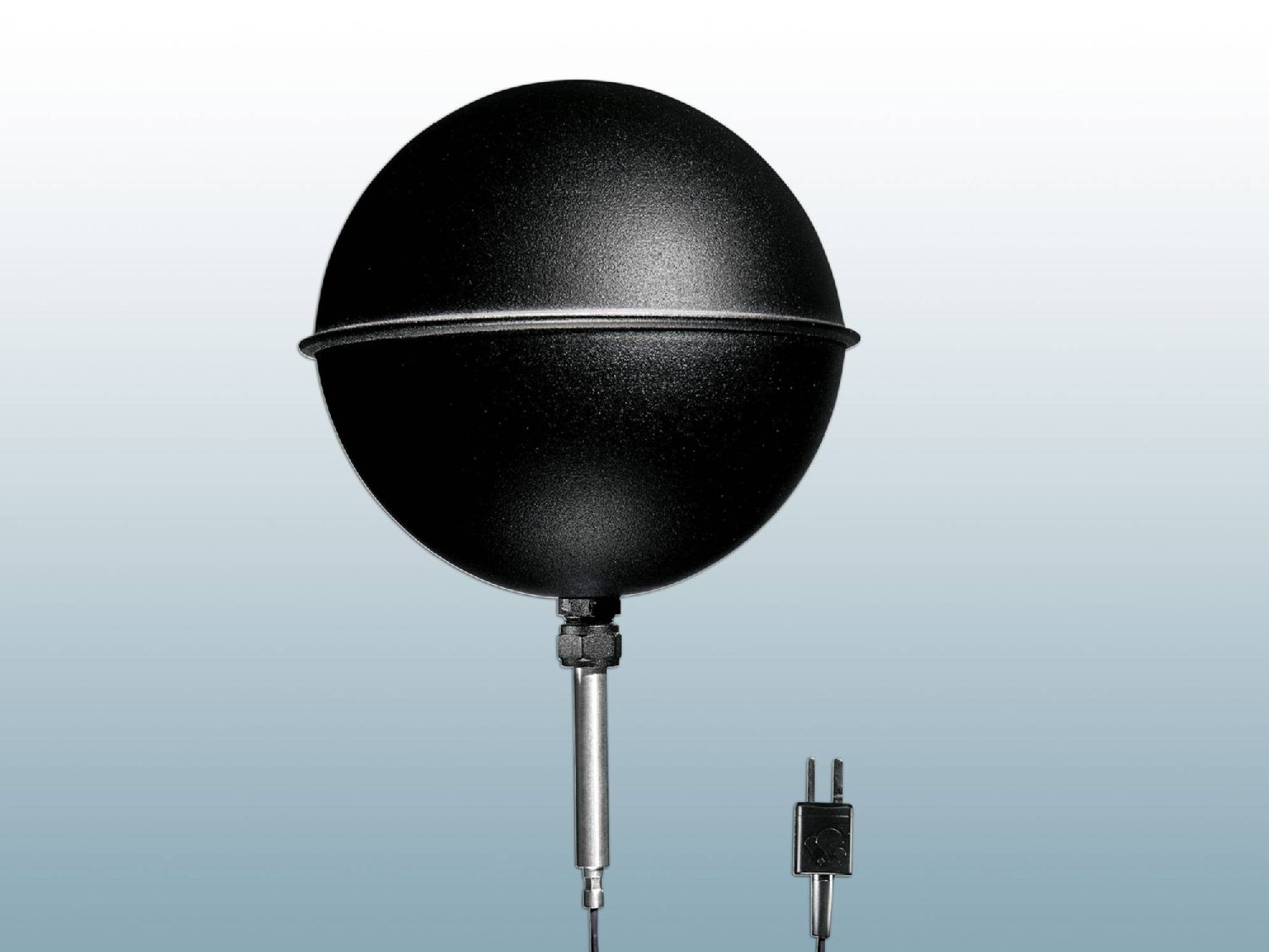 Temperature monitoring  with globe thermometer