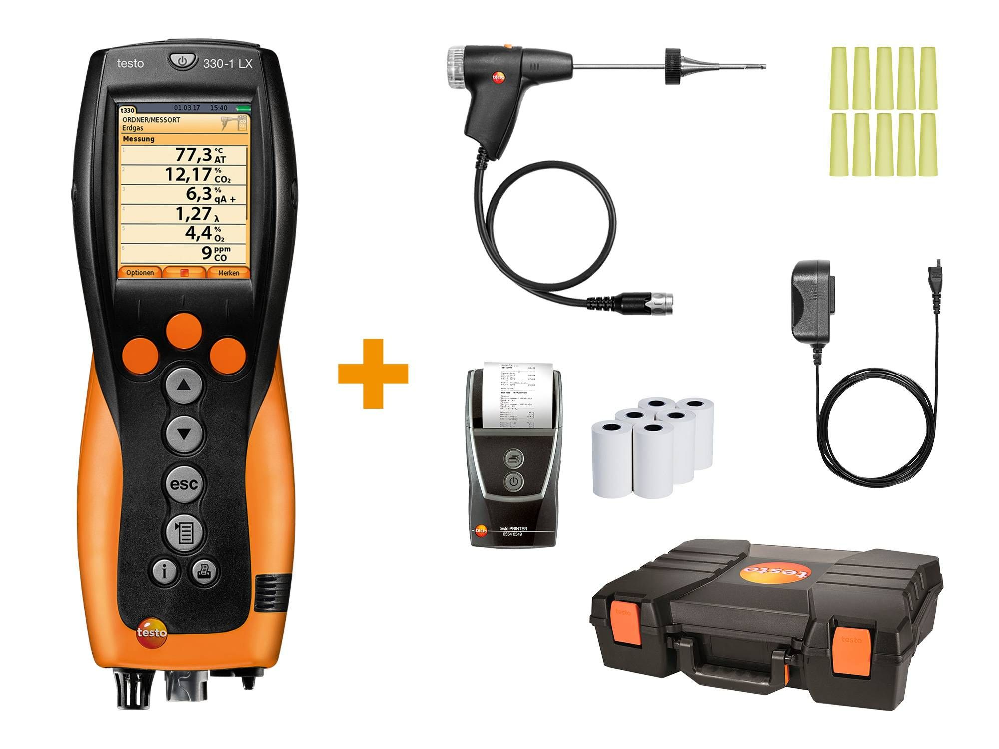 Analyseur de combustion testo 330-1 LX