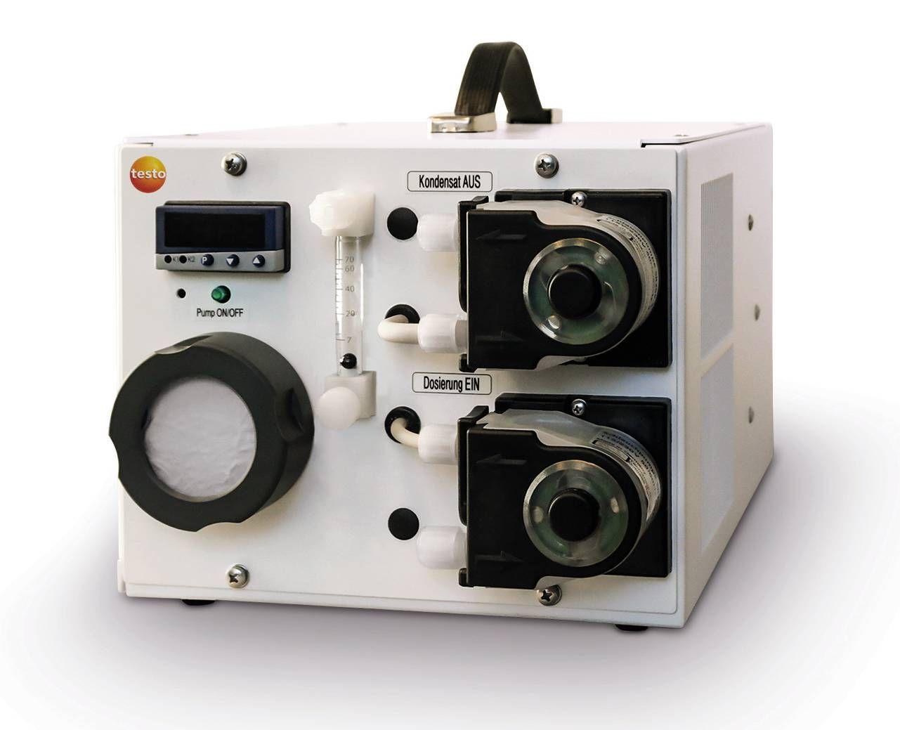 testo 3007高功率低损失烟气预处理采样系统