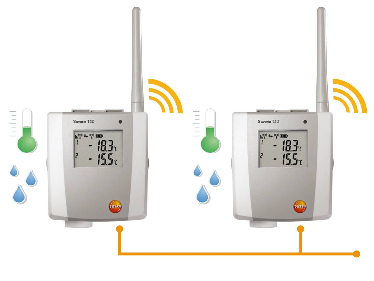 testo Saveris radio and ethernet probes