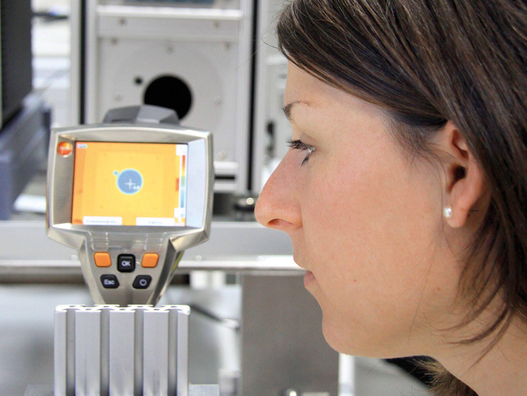 Infra hőmérsékletmérő kalibrálása
