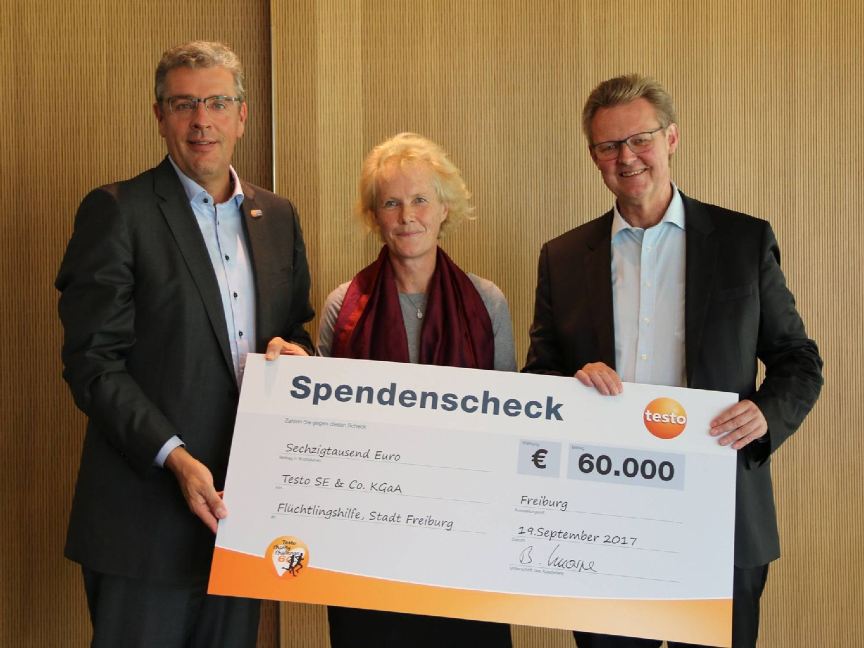 Charitychallenge: Scheck