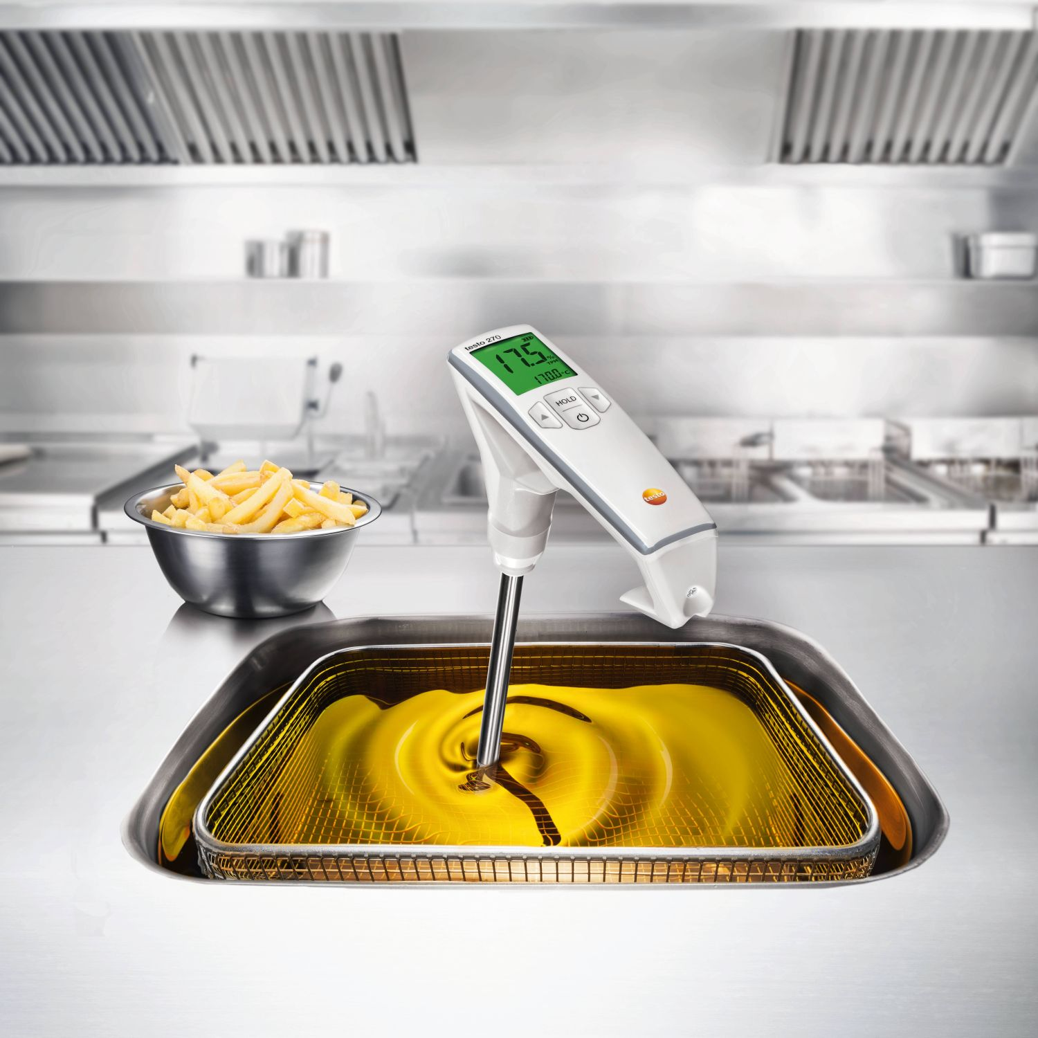 Discover the testo 270 cooking oil tester