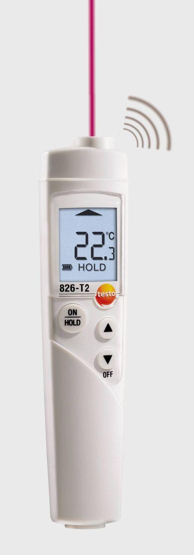 testo 826-T2 temperatuur meetinstrument