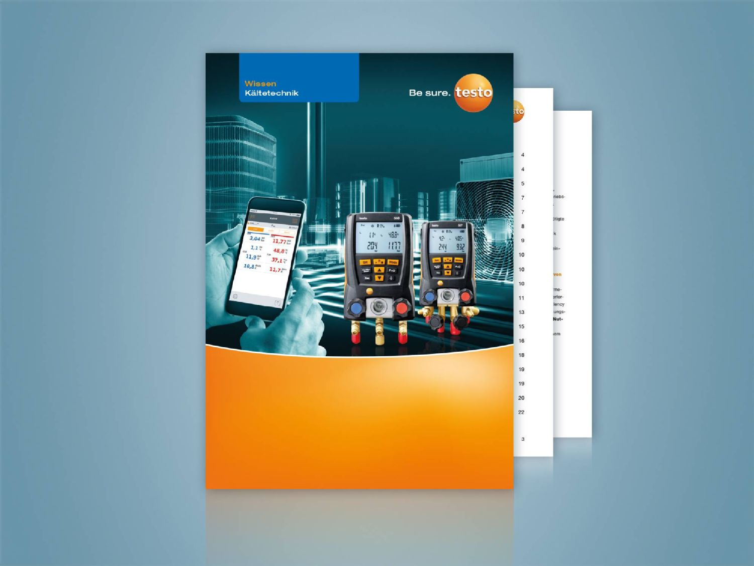 Practical Guide Testo refrigeration know-how in 3 modules