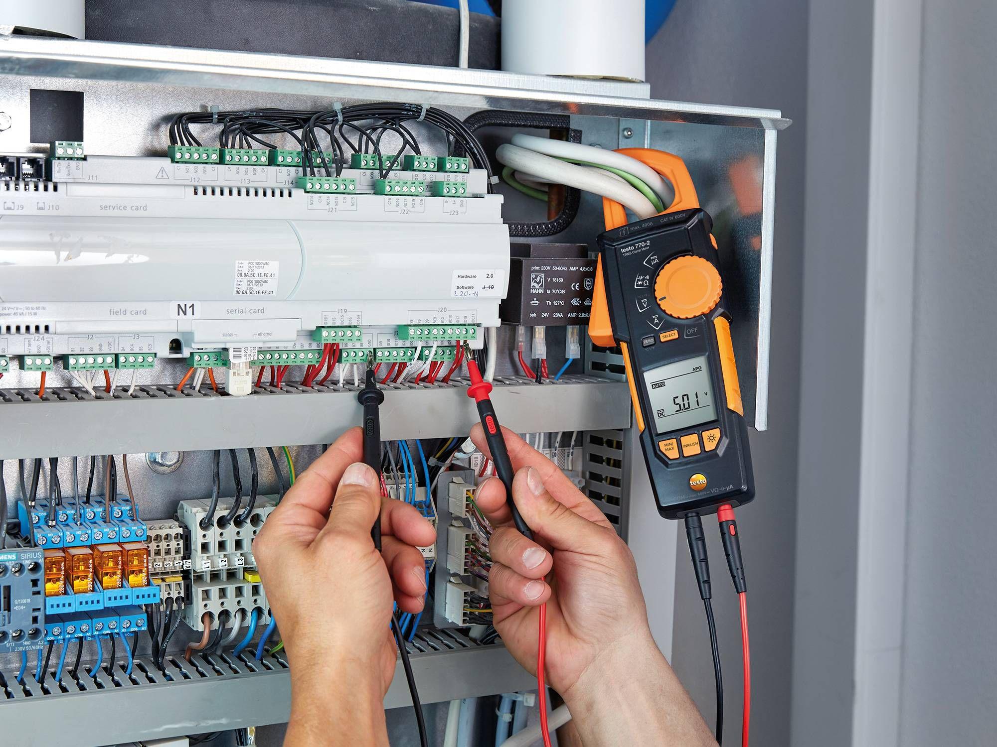 电气开关柜测量仪器德图钳形表