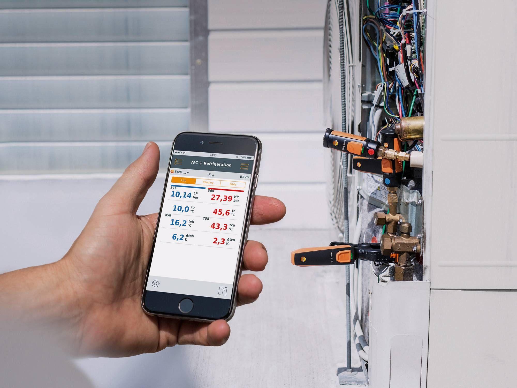 智能手机湿度计