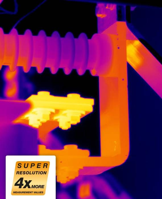 Thermal image of transformers