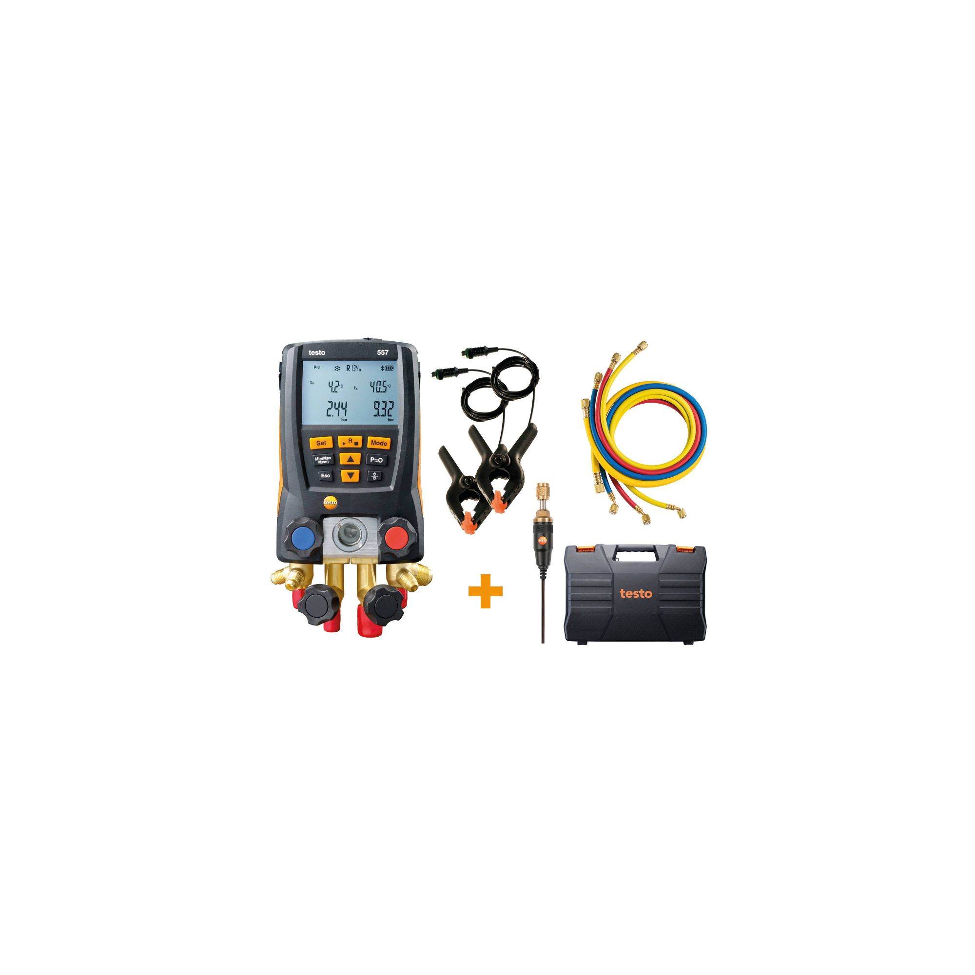 testo 557 digital manifold kit