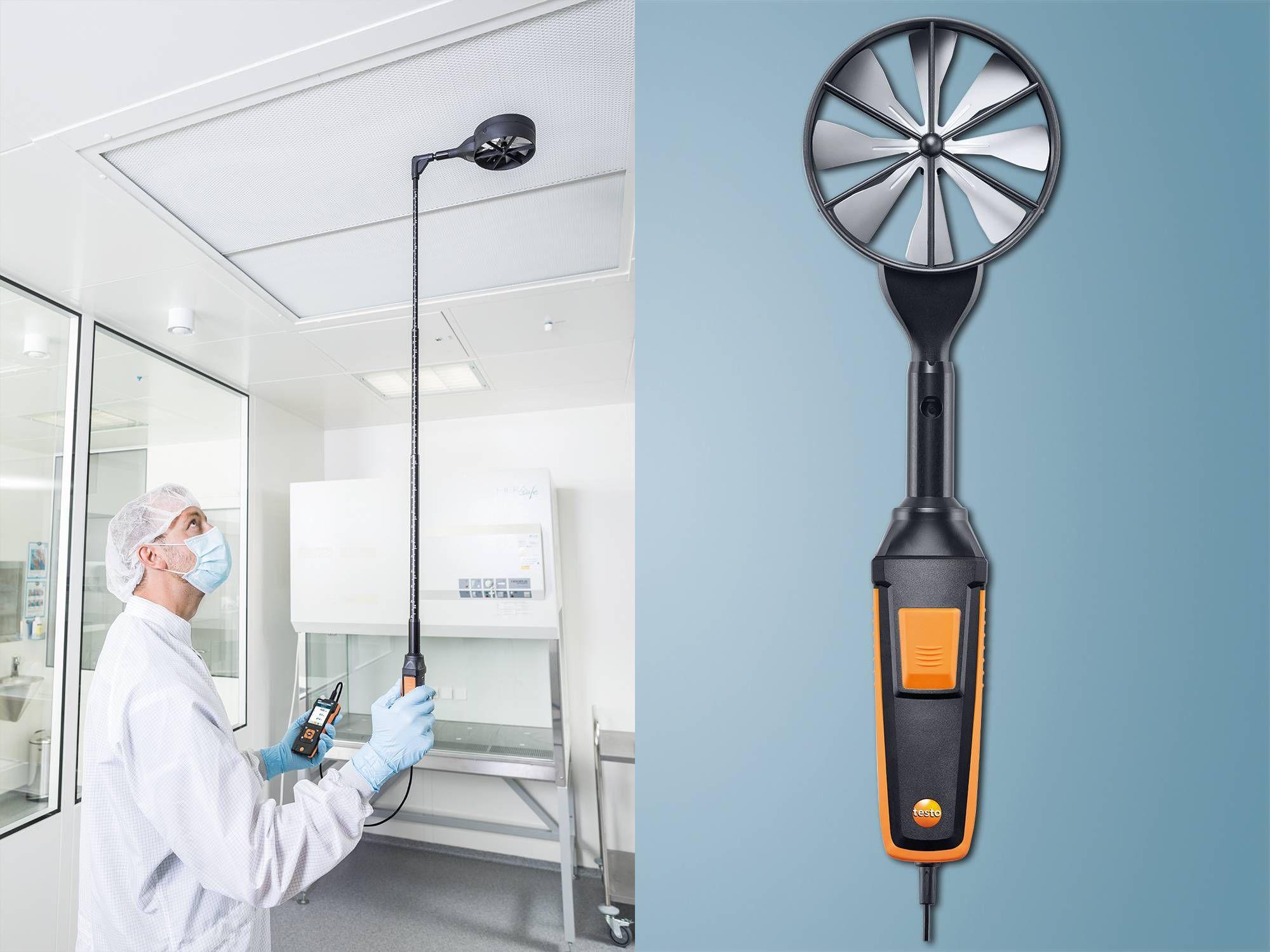 testo 440 high-precision vane probe