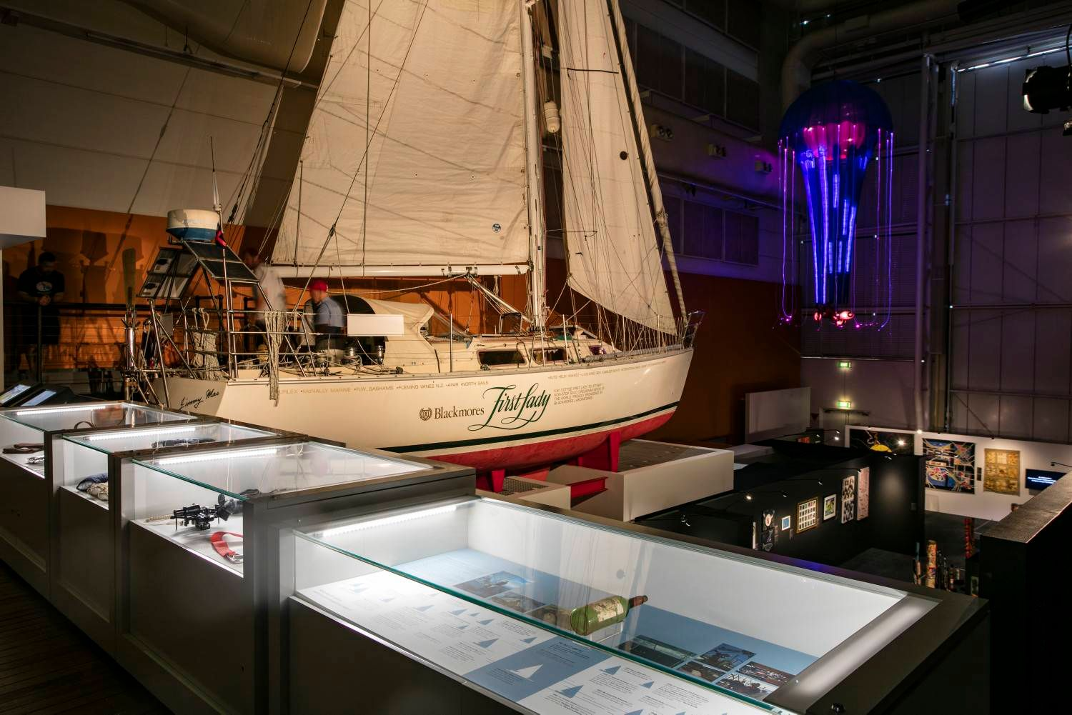 The National Maritime Museum is a vital institution for preserving Australia's seafaring past.
