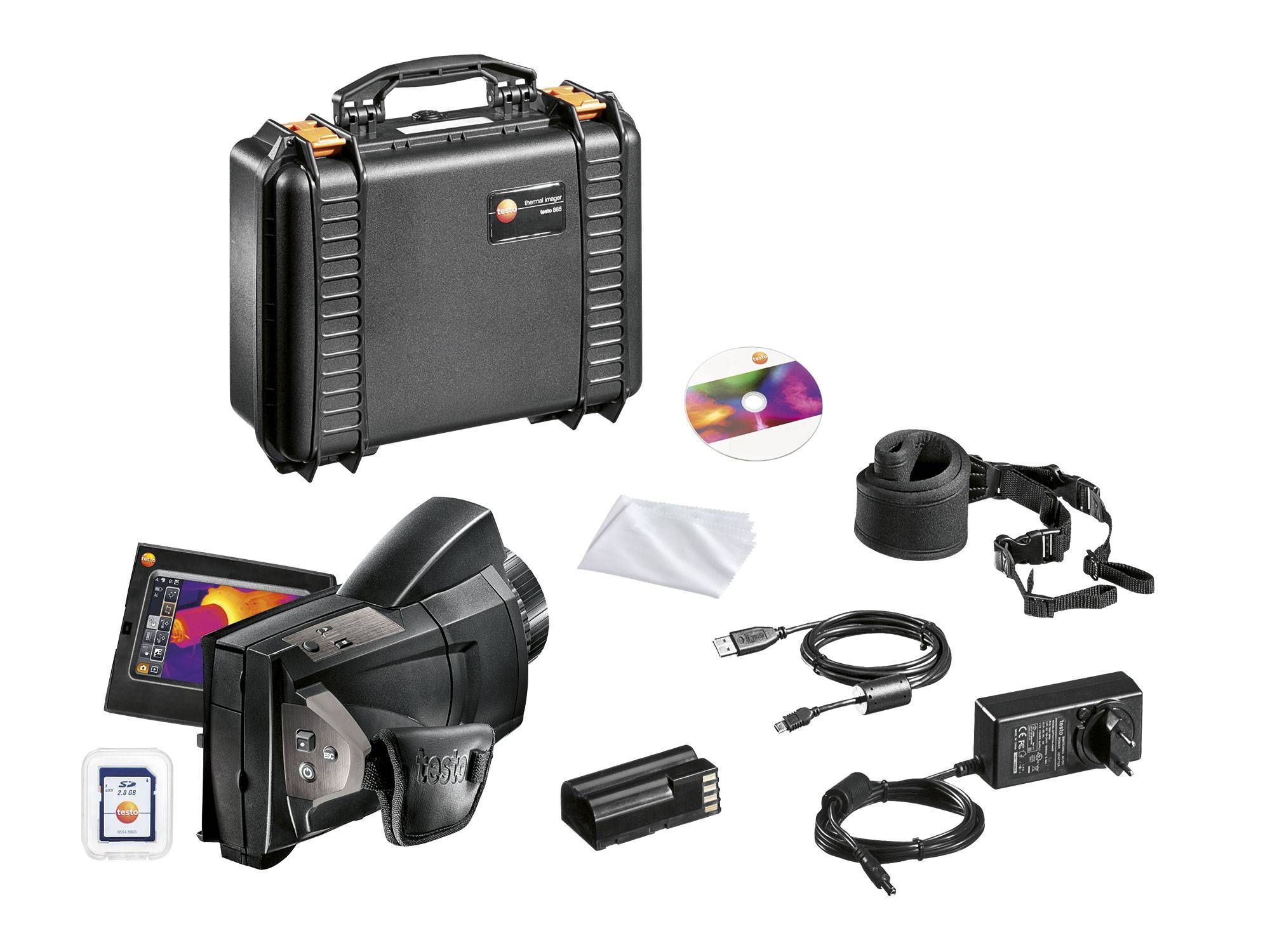 testo 885 - Thermal imager - Delivery scope