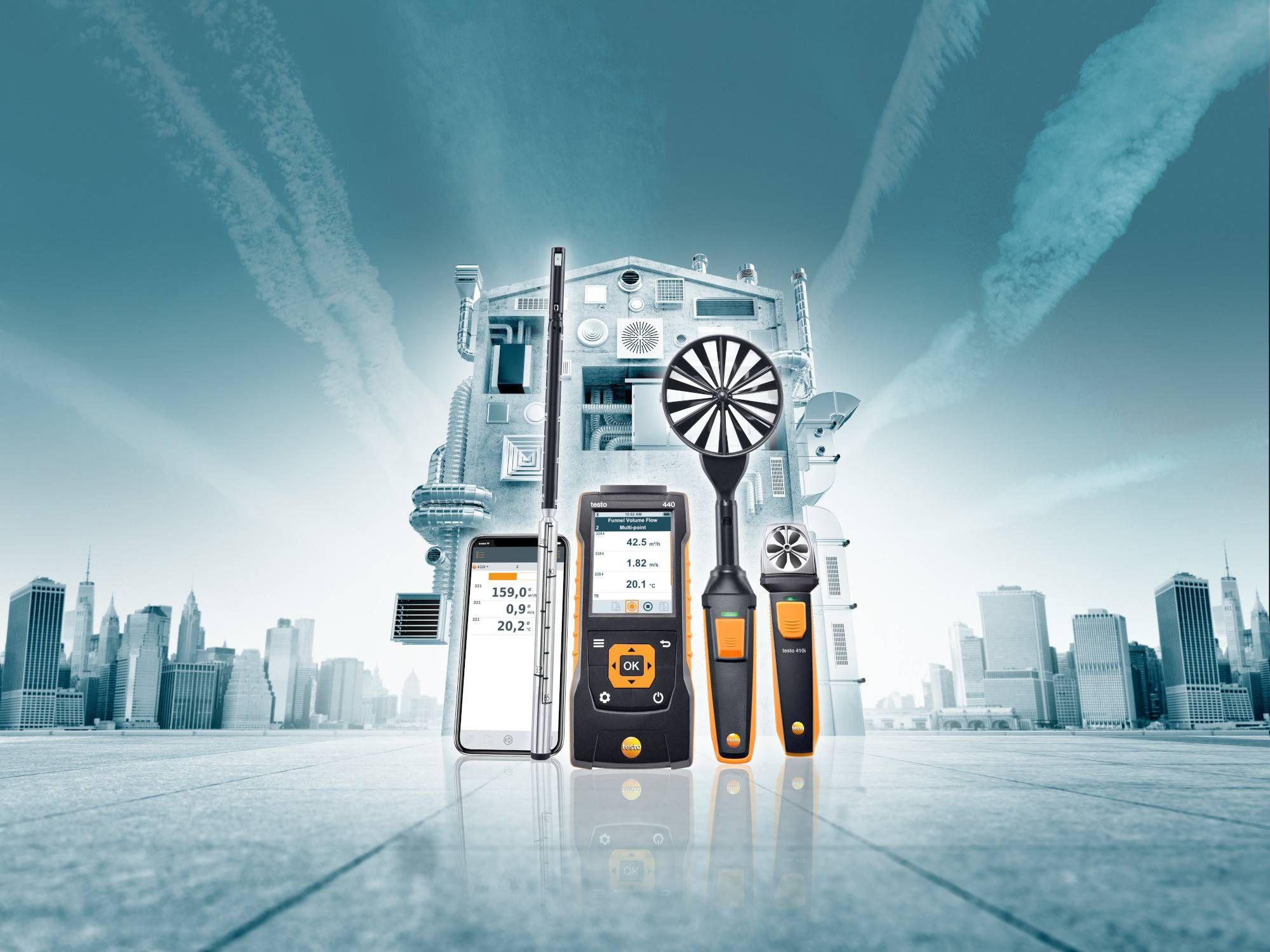 室内空气质量德图多功能测量仪环境测量检测
