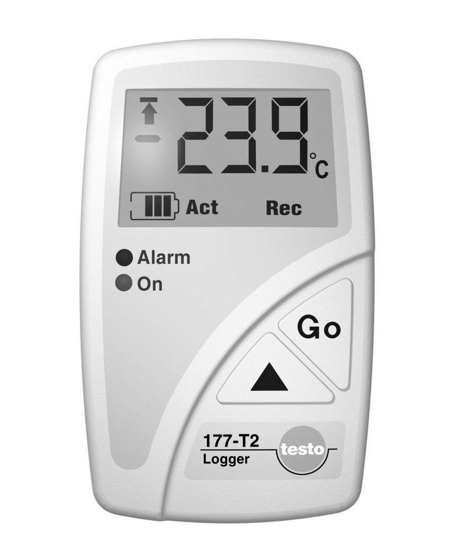 Temperatur-Datenlogger (3 Kanal) mit Display