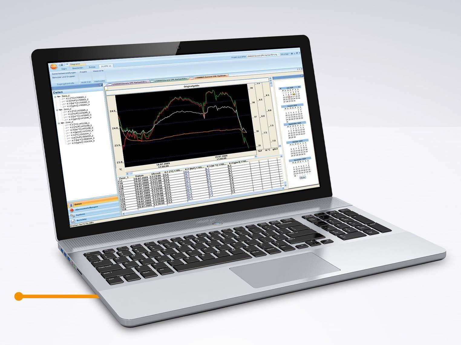 testo Saveris Software