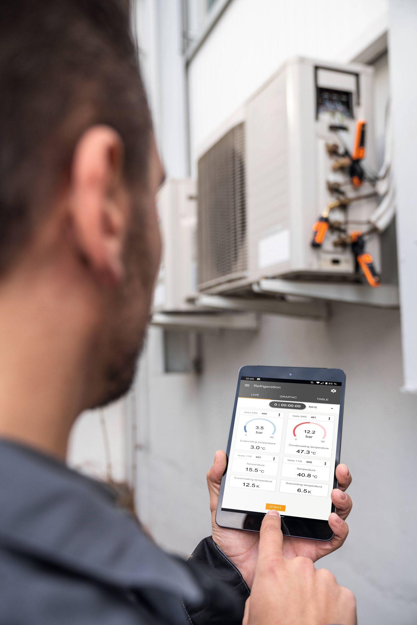 testo-Refrigeration technology_application