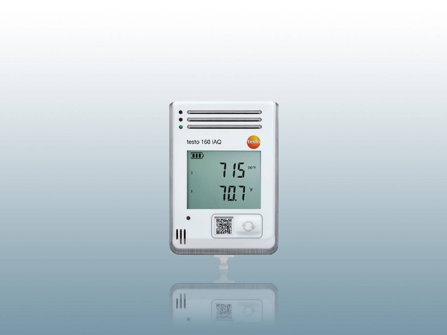 Data logger per CO₂